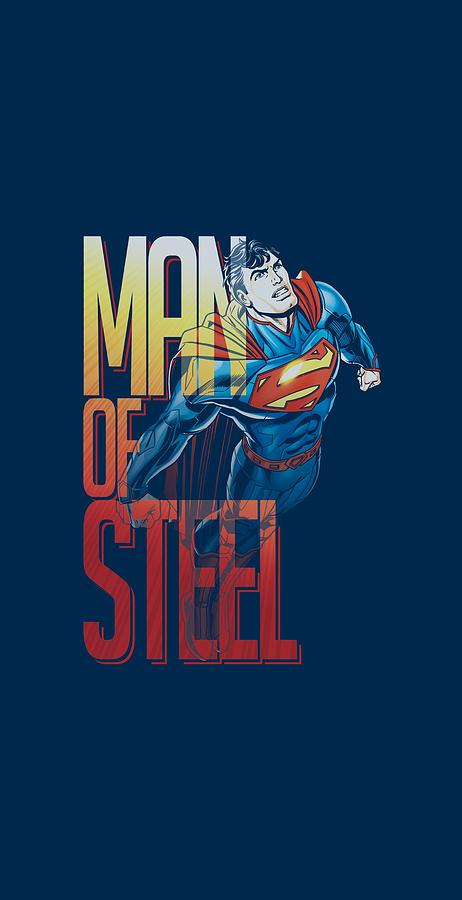 Superman Digital Art - Superman - Steel Flight by Brand A