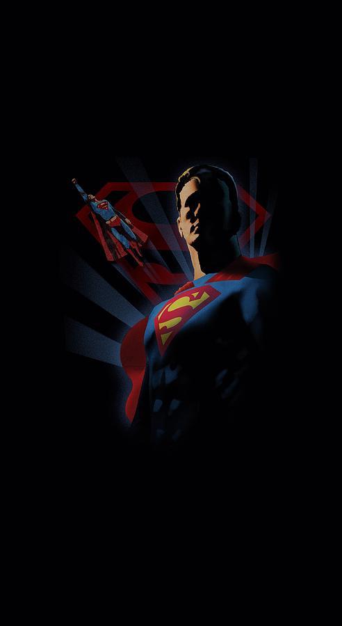 Superman Digital Art - Superman - Super Deco by Brand A