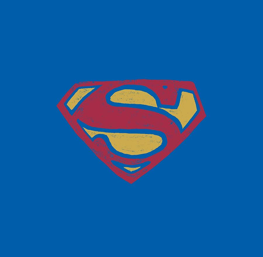 Superman Digital Art - Superman - Super Rough by Brand A