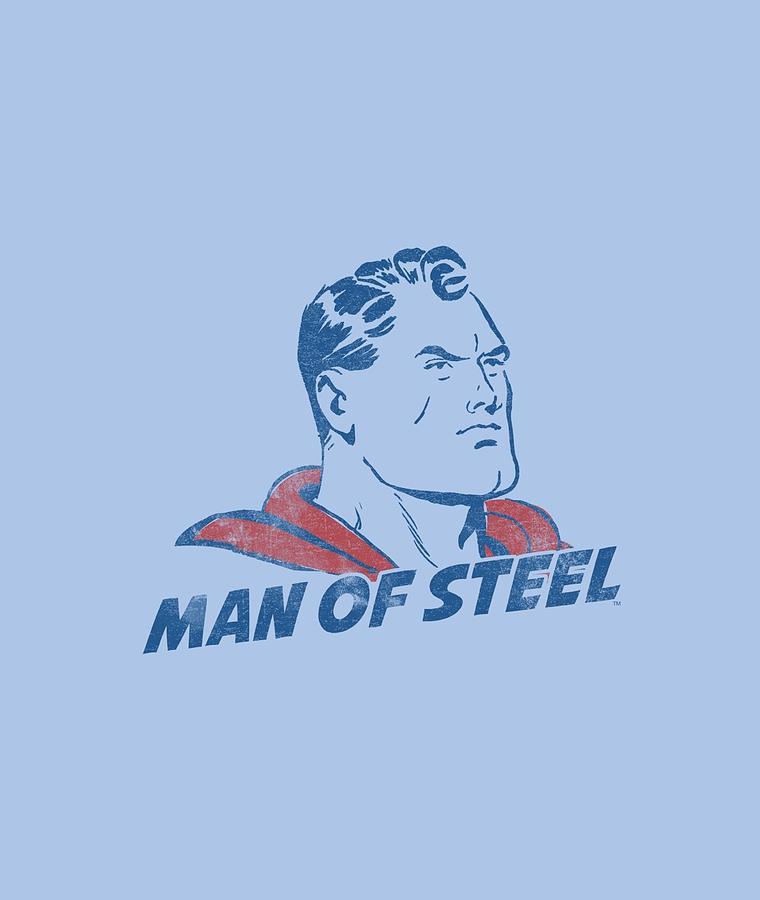 Superman Digital Art - Superman - The Man by Brand A