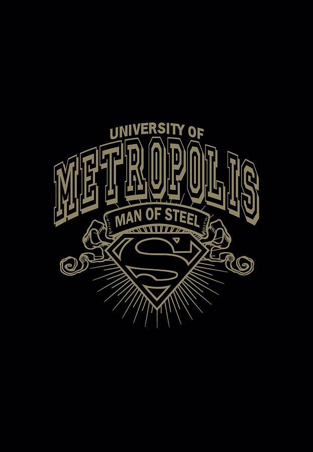 Superman Digital Art - Superman - University Of Metropolis by Brand A