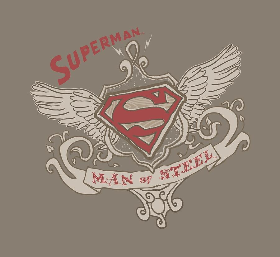 Superman Victorian Wings Supes Digital Art By Brand A