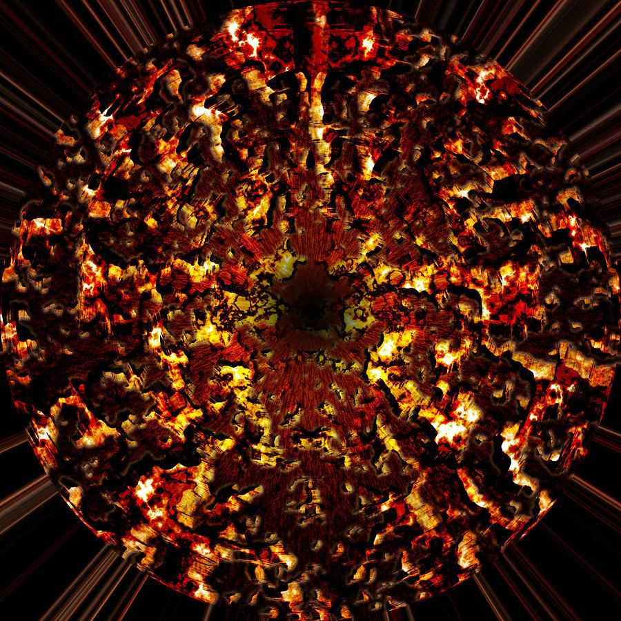 Supernova Painting - Supernova by Christopher Gaston