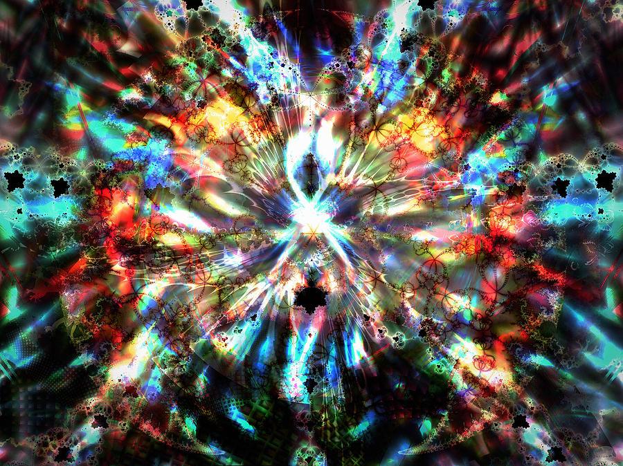 Supernova Digital Art by Nafets Nuarb
