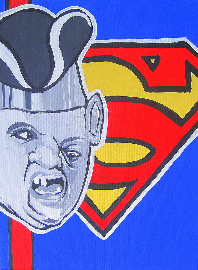 Goonies Painting - Supersloth by Gary Niles