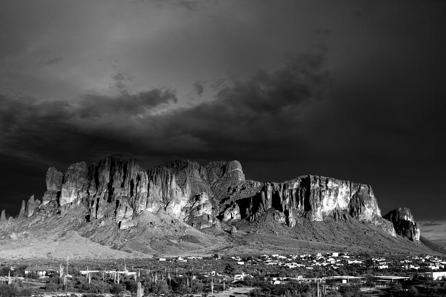 Superstition Mountains Photograph - Superstition Mountain by Maxwell Amaro