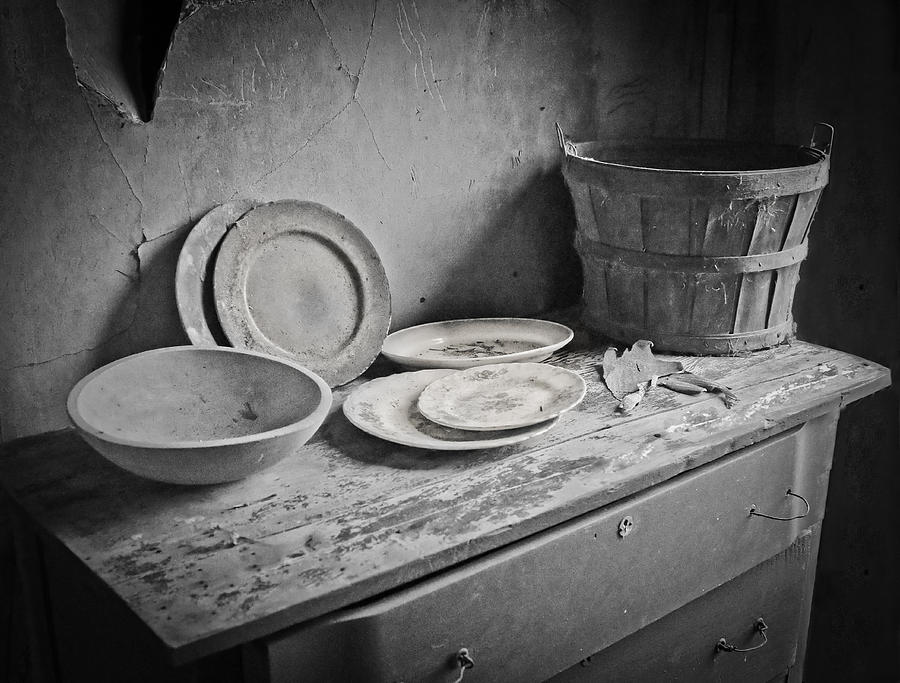 Old Dishes Photograph - Suppers Gone By 2 by EG Kight
