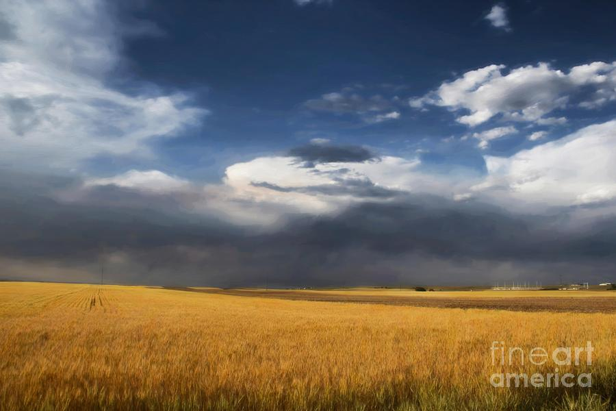 Clouds Photograph - Sure Wish It Would by Jon Burch Photography