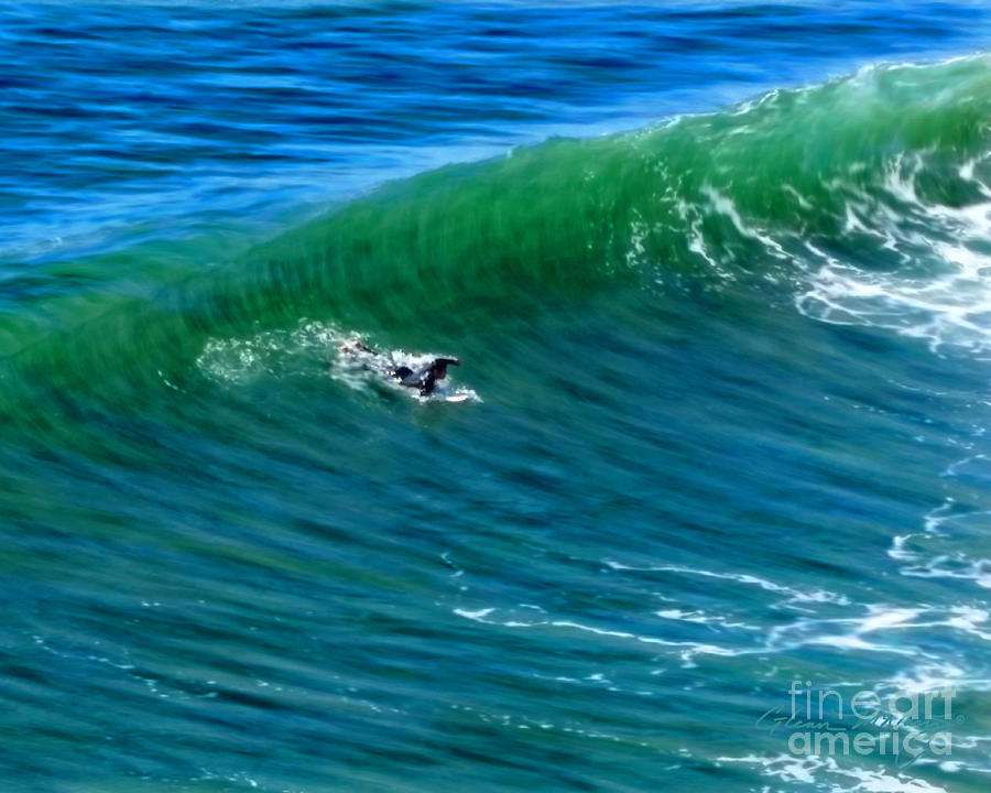 Surf 1 Take Off by Glenn McNary