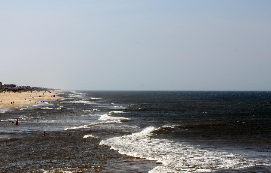 Sea Photograph - Surf And Sand by Carolyn Ricks