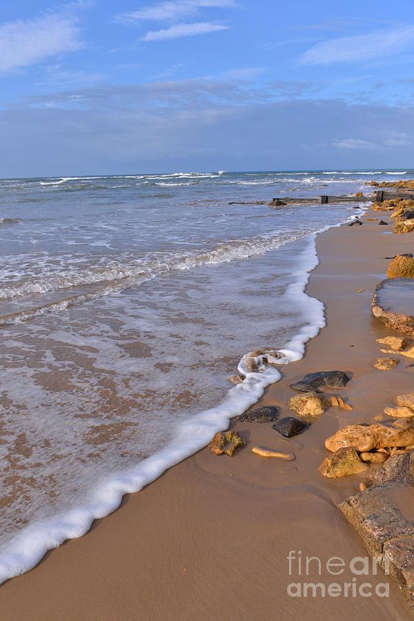 Beach Photograph - Surf Beach - Magic Of Water by Fatima Suljagic