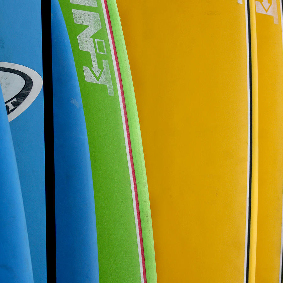 Surf Boards Photograph by Art Block Collections