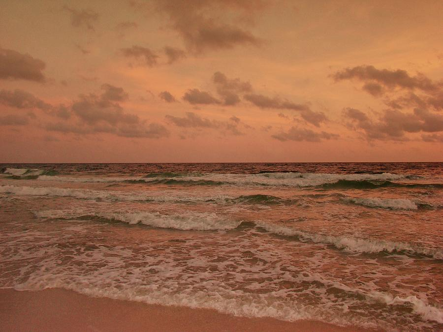 Surf Photograph - Surf - Florida by Sandy Keeton