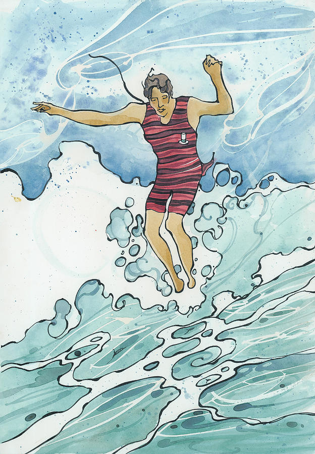 Surf Leap by Harry Holiday