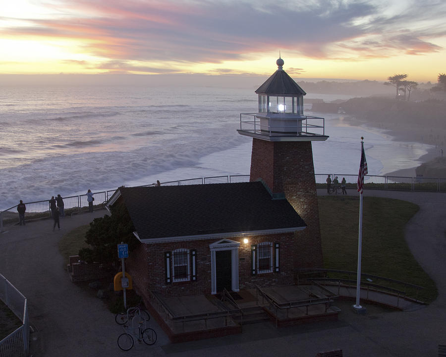 Lighthouse Photograph - Surf Museum by Neal Martin