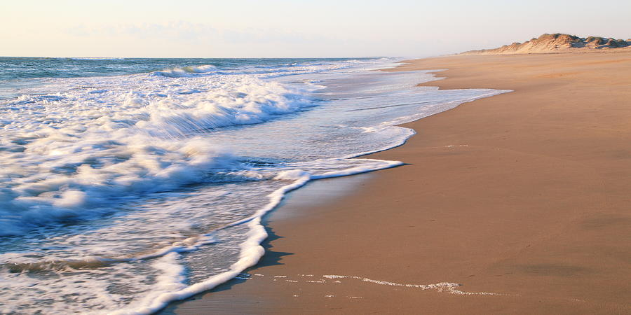 Surf On The Outer Banks Beach Photograph
