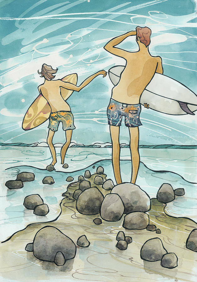 Surf Rocks by Harry Holiday
