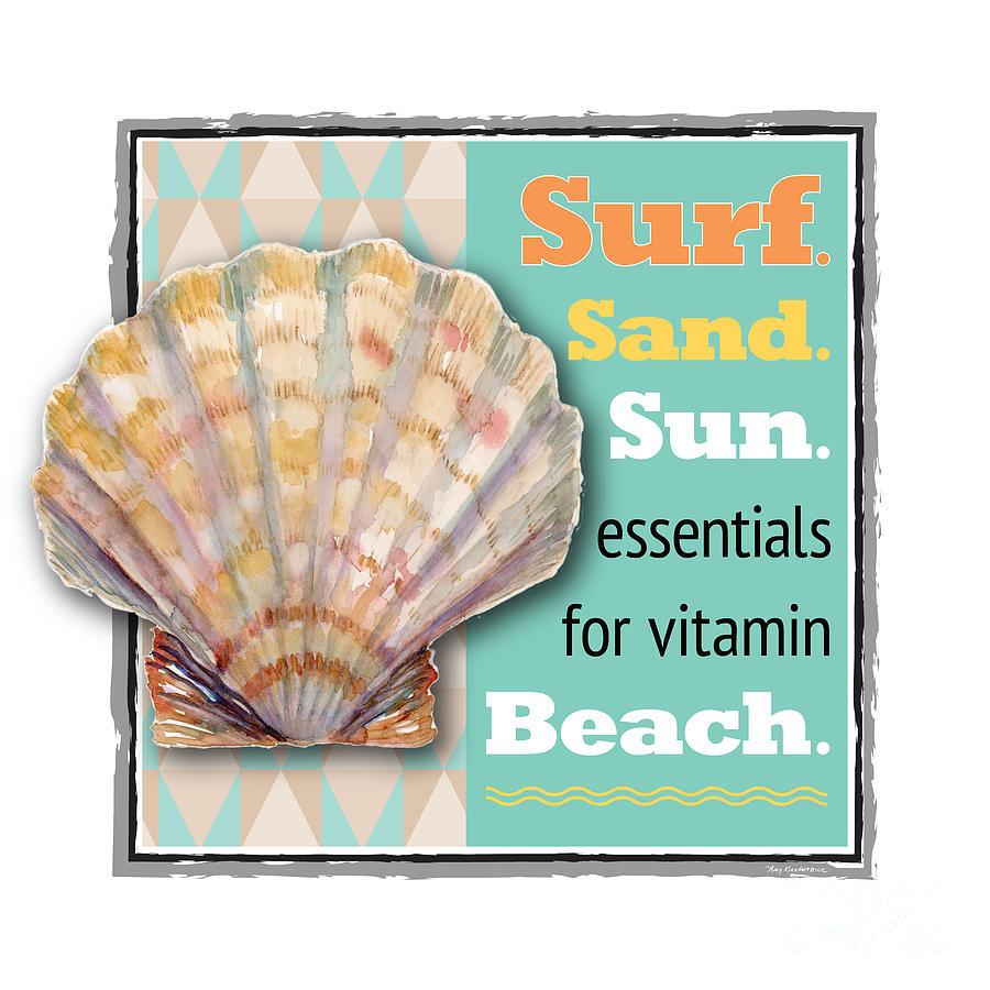 Surf. Sand. Sun. Essentials For Vitamin Beach. Painting
