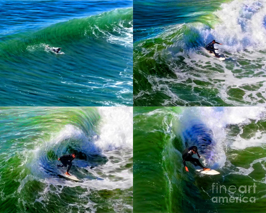 Surf Session by Glenn McNary
