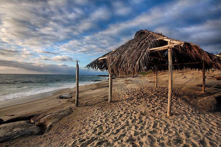 Beach Photograph - Surf Shack II by Peter Tellone
