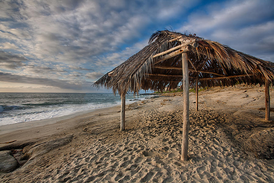 Beach Photograph - Surf Shack by Peter Tellone