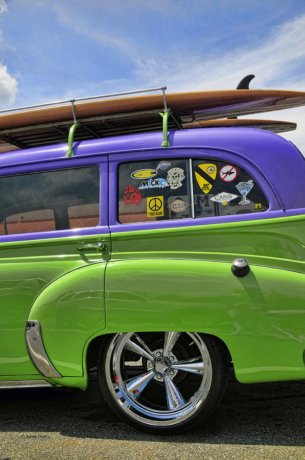 Cars Photograph - Surf Wagon by Kenny Francis