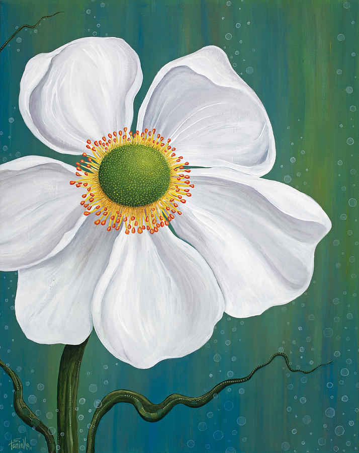 Floral Painting - Surfacing by Tanielle Childers