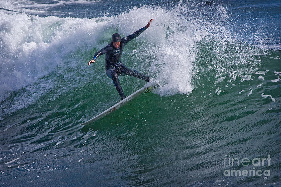 Surfer Photograph - Surfer 1 by Morgan Wright