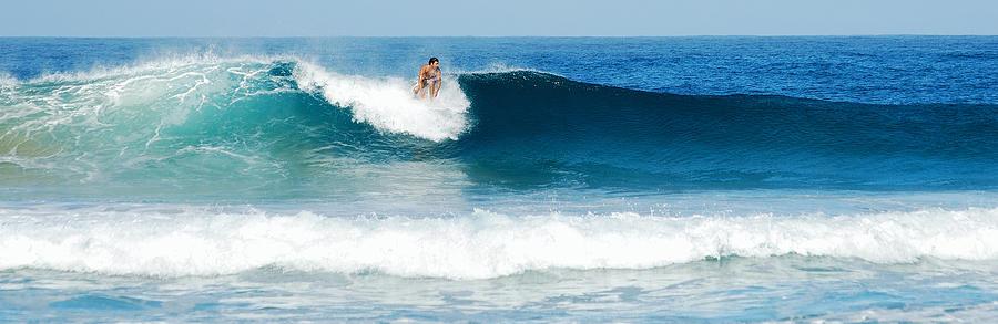 Surfer Photograph - Surfer Dsc_1330 by Michael Peychich