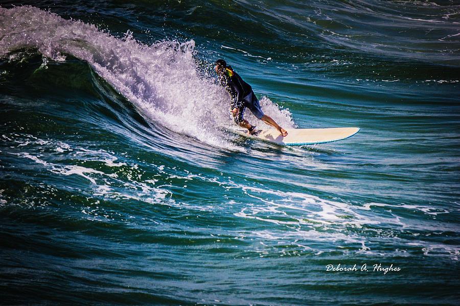 Surfer Photograph - Surfer Dude 14 by Deborah Hughes