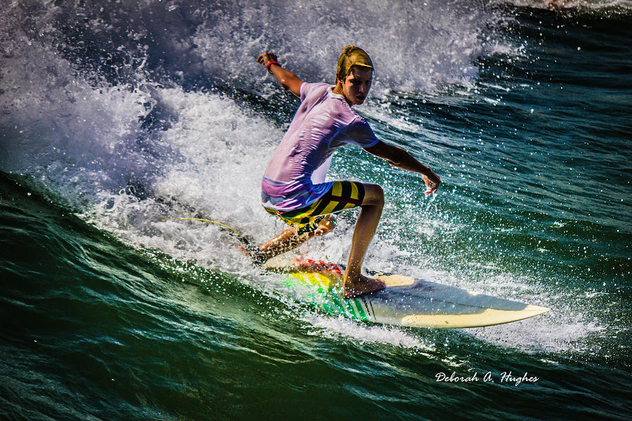 Surfer Dude 17 by Deborah Hughes