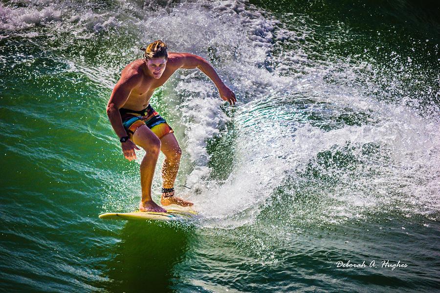 Surfer Photograph - Surfer Dude 8 by Deborah Hughes