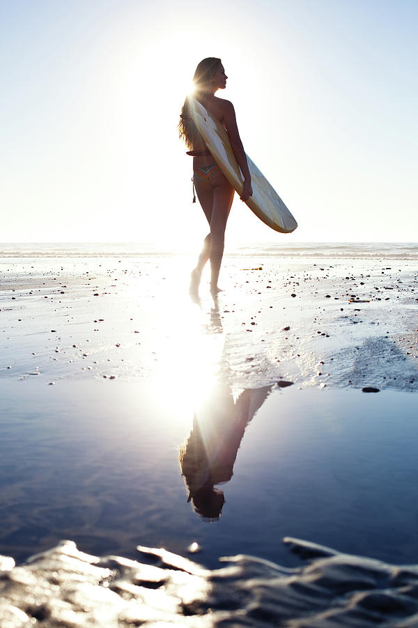Surfer Girl Photograph by Ianmcdonnell