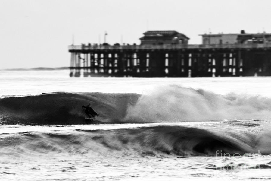 Surfing Photograph - Surfer In Motion by Paul Topp