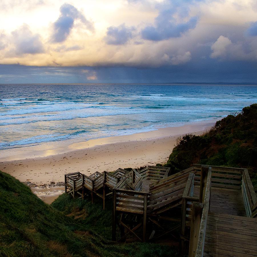 Tim Nichols Photograph - Surfing Dawn by Tim Nichols