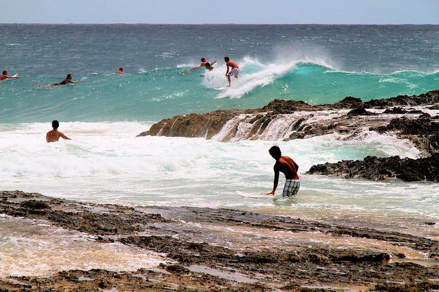 Surfing the Point Break by David Rich