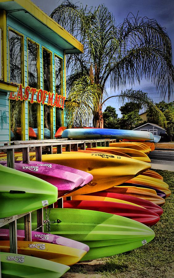 Surfboards Photograph - Surfs Up by Robert McCubbin