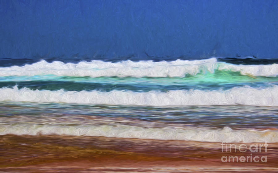 Surf Photograph - Surfs up by Sheila Smart Fine Art Photography