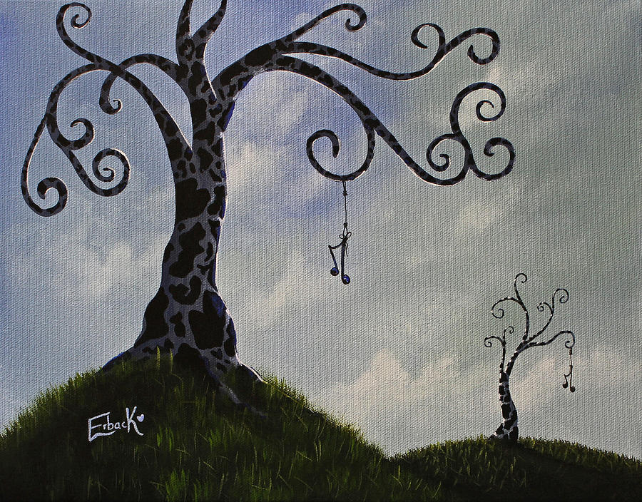 Surreal Dreamscape Painting by Erback Art