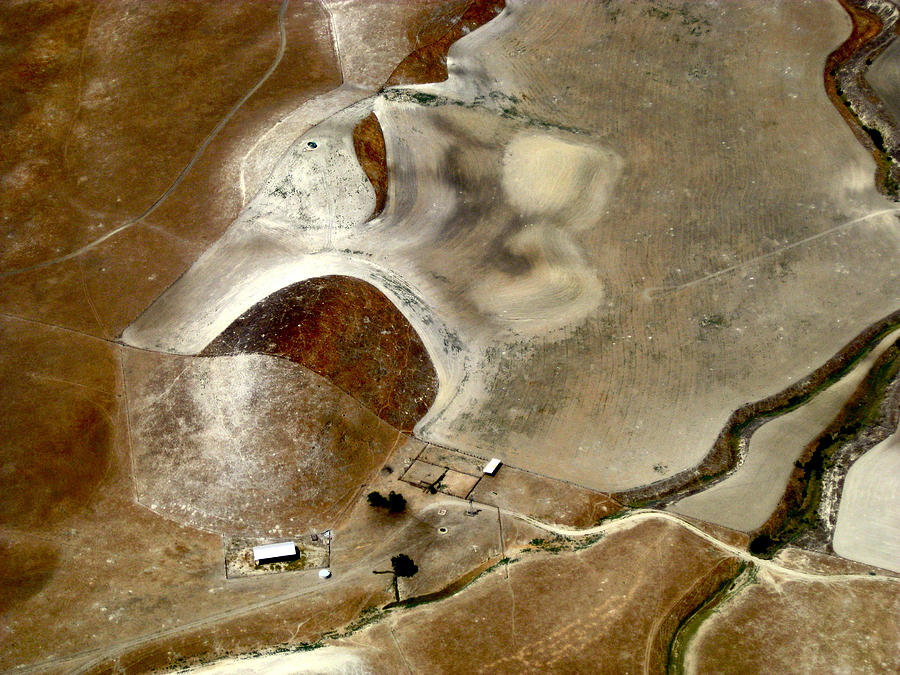 Aerial Photography Photograph - Surreal Ranch by Sylvan Adams