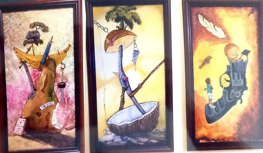 Surrealism Paintings Painting by Carlos Rodriguez Yorde