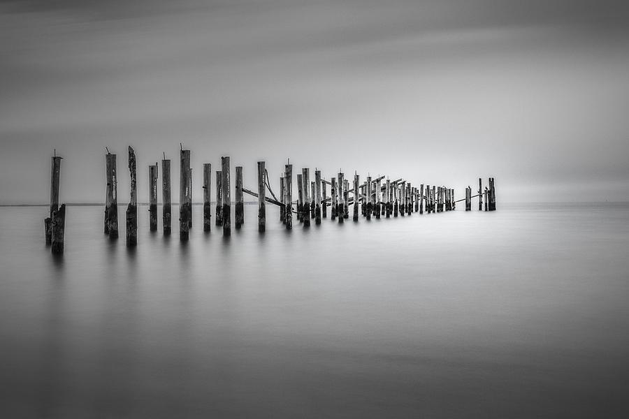 Pier Photograph - Surrender by Eduard Moldoveanu