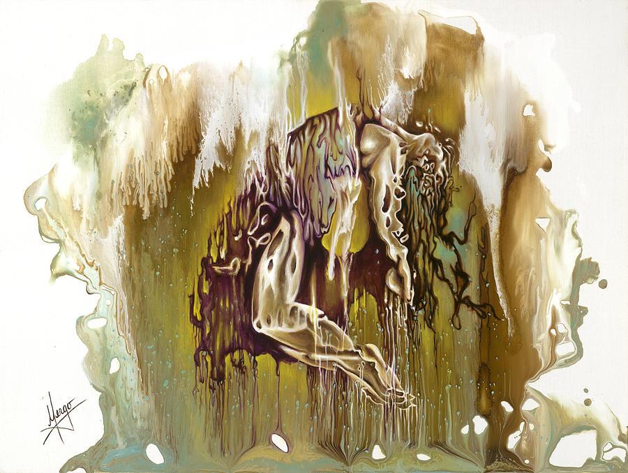 Surrender Painting - Surrender by Karina Llergo