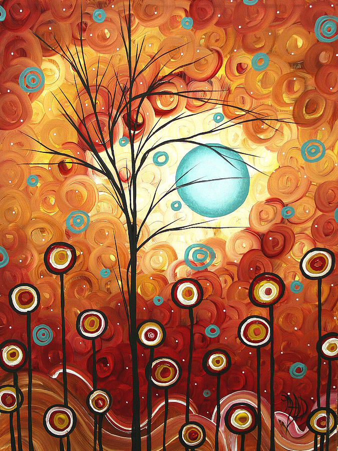 Abstract Painting - Surrounded By Love By Madart by Megan Duncanson
