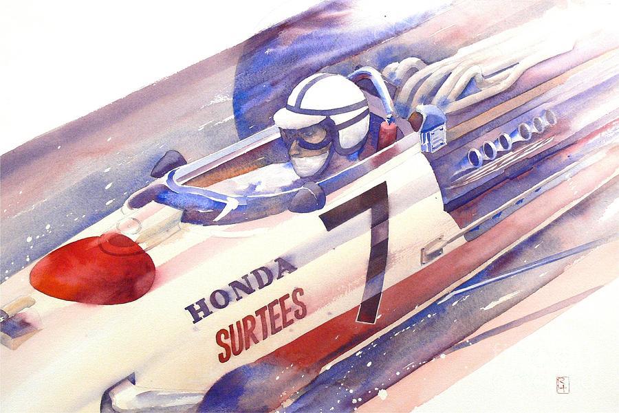 Watercolor Painting - Surtees by Robert Hooper