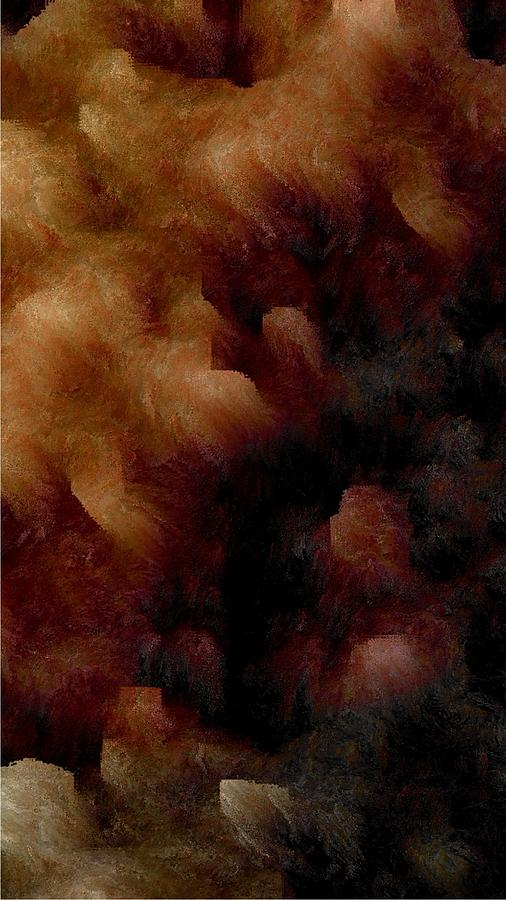Abstract Digital Art - Survival by James Barnes