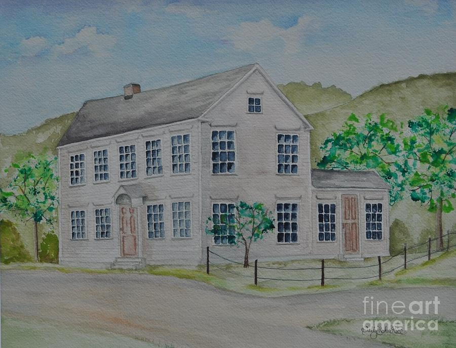 Susan B. Anthony Birthplace Painting - Susan B. Anthony Birthplace by Sally Rice