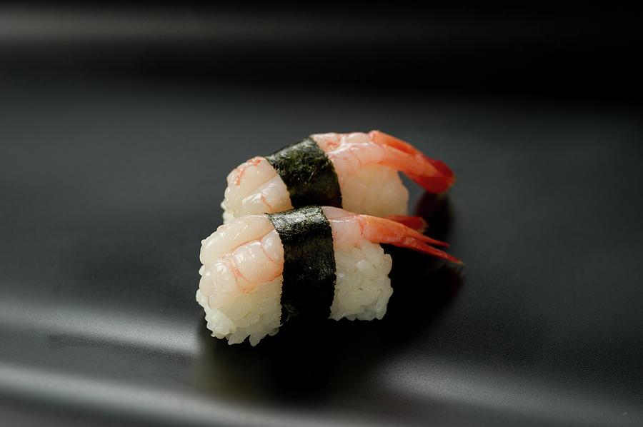 Sushi Amaebi Photograph by Ryouchin