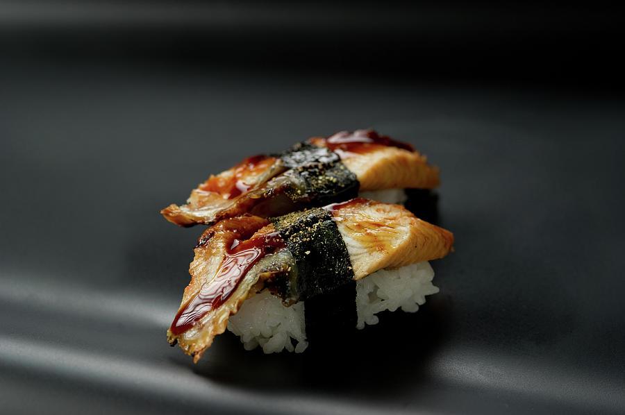 Sushi Unagi Photograph by Ryouchin