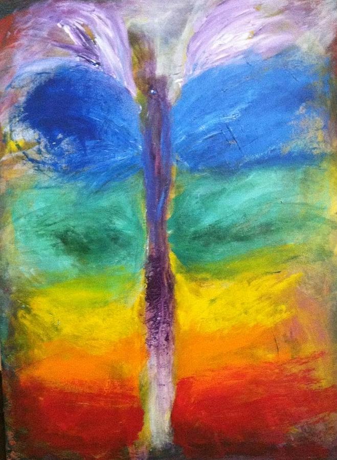 Bebe Painting - Sushumna by Bebe Brookman